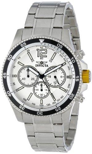 インヴィクタ インビクタ 腕時計 メンズ 【送料無料】Invicta Men's INVICTA-13975 Specialty Analog Display Japanese Quartz Silver Watchインヴィクタ インビクタ 腕時計 メンズ