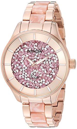 インヴィクタ インビクタ エンジェル 腕時計 レディース Invicta Women's Angel Quartz Watch with Stainless-Steel Strap, Two Tone, 18 (Model: 24663)インヴィクタ インビクタ エンジェル 腕時計 レディース