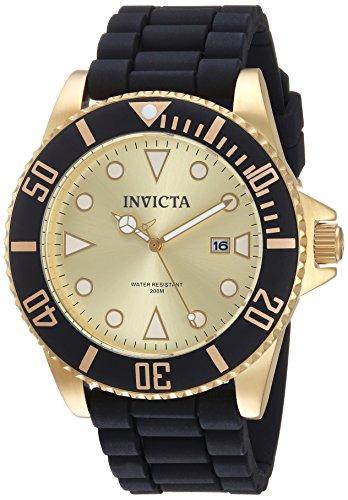 インヴィクタ インビクタ プロダイバー 腕時計 レディース 【送料無料】Invicta Men's Pro Diver Stainless Steel Quartz Watch with Silicone Strap, Black, 22 (Model: 90302)インヴィクタ インビクタ プロダイバー 腕時計 レディース