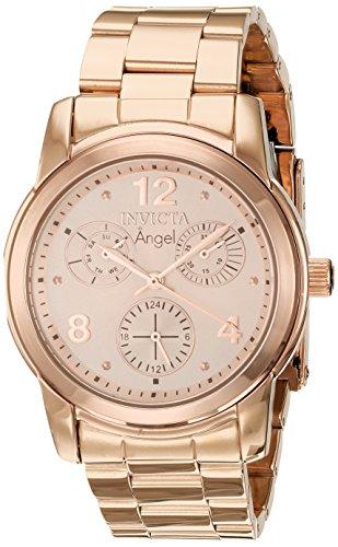 インヴィクタ インビクタ エンジェル 腕時計 レディース 【送料無料】Invicta Women's Angel Quartz Watch with Stainless-Steel Strap, Rose ゴールド, 20 (Model: 21687)インヴィクタ インビクタ エンジェル 腕時計 レディース