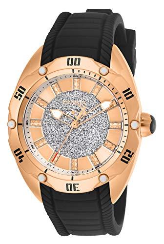 インヴィクタ インビクタ ベノム 腕時計 レディース 【送料無料】Invicta Women's Venom Stainless Steel Quartz Watch with Silicone Strap, Black, 21 (Model: 26146)インヴィクタ インビクタ ベノム 腕時計 レディース