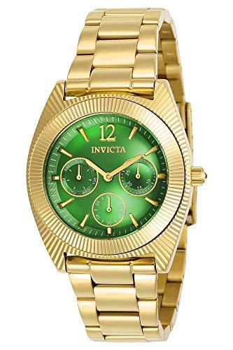 インヴィクタ インビクタ エンジェル 腕時計 レディース 【送料無料】Invicta Women's Angel Quartz Watch with Stainless-Steel Strap, Gold, 21 (Model: 23749)インヴィクタ インビクタ エンジェル 腕時計 レディース