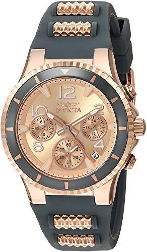 インヴィクタ インビクタ 腕時計 レディース Invicta Women's BLU Stainless Steel Quartz Watch with Silicone Strap, Two Tone, 1 (Model: 24189)インヴィクタ インビクタ 腕時計 レディース