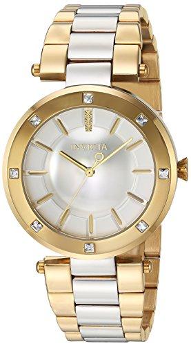 インヴィクタ インビクタ エンジェル 腕時計 レディース 【送料無料】Invicta Women's Angel Quartz Watch with Stainless-Steel Strap, Two Tone, 22 (Model: 23725)インヴィクタ インビクタ エンジェル 腕時計 レディース
