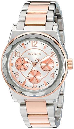 インヴィクタ インビクタ エンジェル 腕時計 レディース Invicta Women's Angel Quartz Watch with Stainless-Steel Strap, Two Tone, 20 (Model: 22109)インヴィクタ インビクタ エンジェル 腕時計 レディース
