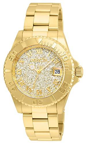 インヴィクタ インビクタ エンジェル 腕時計 レディース Invicta Women's Angel Swiss-Quartz Watch with Stainless-Steel Strap, Gold, 20 (Model: 22707)インヴィクタ インビクタ エンジェル 腕時計 レディース