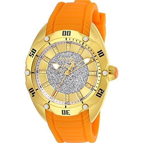 インヴィクタ インビクタ ベノム 腕時計 レディース Invicta Women's Venom Stainless Steel Quartz Watch with Silicone Strap, Orange, 21 (Model: 26149)インヴィクタ インビクタ ベノム 腕時計 レディース