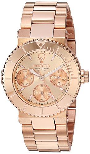 インヴィクタ インビクタ 腕時計 レディース 【送料無料】Invicta Women's Gabrielle Union Quartz Watch with Stainless-Steel Strap, Rose Gold, 9 (Model: 22896)インヴィクタ インビクタ 腕時計 レディース