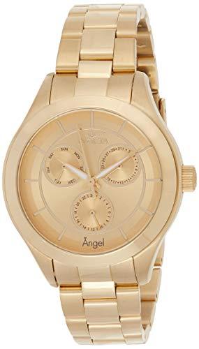インヴィクタ インビクタ エンジェル 腕時計 レディース Invicta Women's Angel Quartz Watch with Stainless-Steel Strap, Gold, 18 (Model: 21694)インヴィクタ インビクタ エンジェル 腕時計 レディース