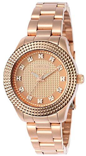インヴィクタ インビクタ エンジェル 腕時計 レディース 【送料無料】Invicta Women's Angel Quartz Watch with Stainless-Steel Strap, Rose Gold, 16 (Model: 22879)インヴィクタ インビクタ エンジェル 腕時計 レディース