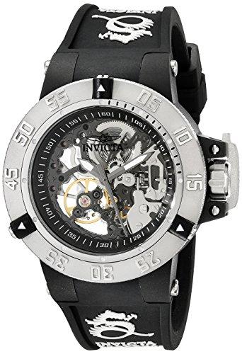 腕時計 インヴィクタ インビクタ サブアクア レディース 【送料無料】Invicta Women's 17129 Subaqua Analog Display Mechanical Hand Wind Black Watch腕時計 インヴィクタ インビクタ サブアクア レディース