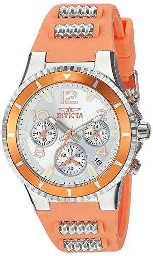 インヴィクタ インビクタ 腕時計 レディース Invicta Women's BLU Quartz Watch with Silicone Stainless Steel Strap, Pink, 22 (Model: 24190)インヴィクタ インビクタ 腕時計 レディース