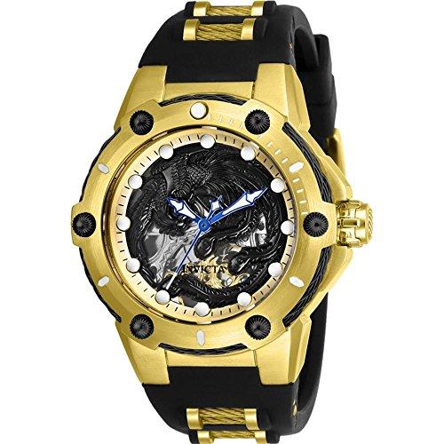 インヴィクタ インビクタ ボルト 腕時計 レディース 【送料無料】26385 - INVICTA Bolt Lady 40mm Stainless Steel Gold Black+Gold dial M2761-2A(S.S.) Mechanicalインヴィクタ インビクタ ボルト 腕時計 レディース