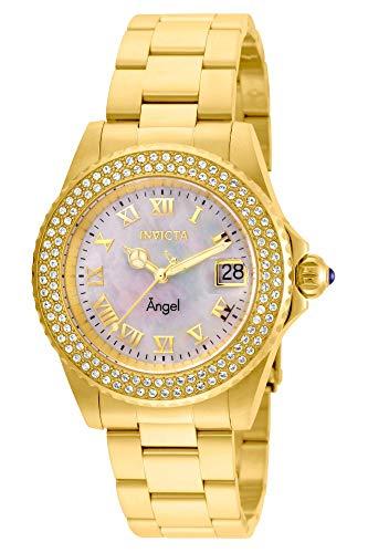 インヴィクタ インビクタ エンジェル 腕時計 レディース Invicta Women's Angel Quartz Watch with Stainless-Steel Strap, Gold, 20 (Model: 22875)インヴィクタ インビクタ エンジェル 腕時計 レディース