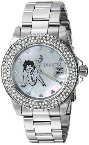 インヴィクタ インビクタ 腕時計 レディース 【送料無料】Invicta Women's Character Collection Quartz Watch with Stainless-Steel Strap, Silver, 9 (Model: 24491)インヴィクタ インビクタ 腕時計 レディース