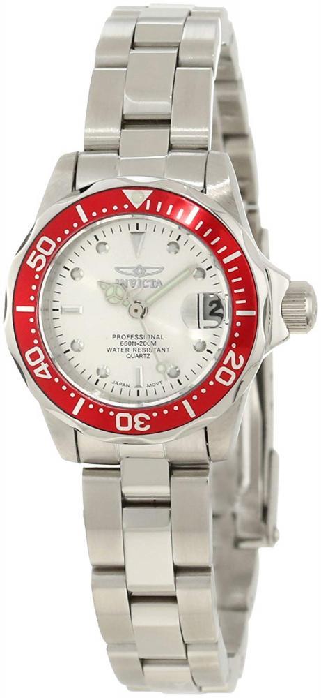 インヴィクタ インビクタ プロダイバー 腕時計 レディース Invicta Women's 12521 Pro Diver Silver Dial Stainless Steel Watchインヴィクタ インビクタ プロダイバー 腕時計 レディース