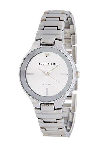 アンクライン 腕時計 レディース Anne Klein Women's Diamond Accent Bracelet Watch, 32mm AK/2425SVSVアンクライン 腕時計 レディース