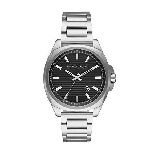 マイケルコース 腕時計 メンズ マイケル・コース アメリカ直輸入 【送料無料】Michael Kors Men's Bryson Analog-Quartz Watch with Stainless-Steel Strap, Silver, 22 (Model: MK8633)マイケルコース 腕時計 メンズ マイケル・コース アメリカ直輸入