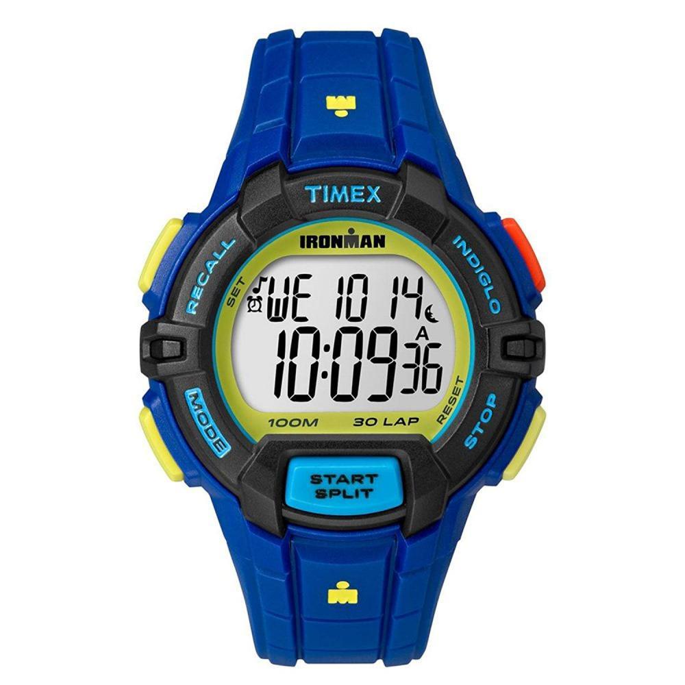 タイメックス 腕時計 メンズ Timex Unisex Ironman? Rugged 30 Full-Size Blue One Sizeタイメックス 腕時計 メンズ