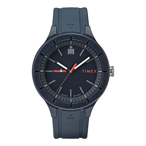 タイメックス 腕時計 メンズ Timex Ironman Essentials 43mm Strap Watch (Navy Blue)タイメックス 腕時計 メンズ
