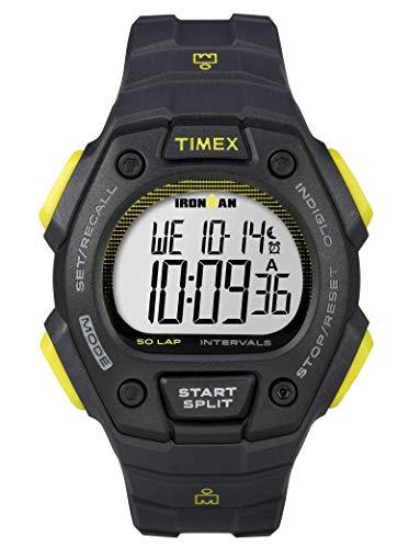 タイメックス 腕時計 メンズ 【送料無料】Timex Ironman 50 Lap Classic Watch Dark Grey/Limeタイメックス 腕時計 メンズ