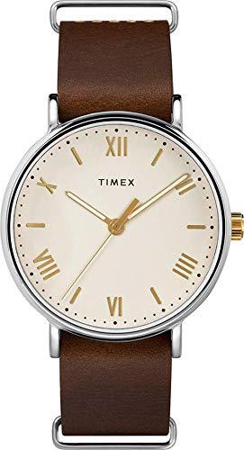 タイメックス 腕時計 メンズ 【送料無料】Timex Southview Quartz Movement Cream Dial Men's Watch TW2R80400タイメックス 腕時計 メンズ