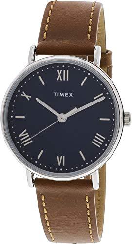 タイメックス 腕時計 メンズ 【送料無料】Timex Men's Southview TW2R63900 Silver Leather Japanese Quartz Dress Watchタイメックス 腕時計 メンズ