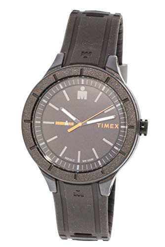 腕時計 タイメックス メンズ 【送料無料】Timex Men's Ironman Essential TW5M16900 Black Silicone Quartz Sport Watch腕時計 タイメックス メンズ
