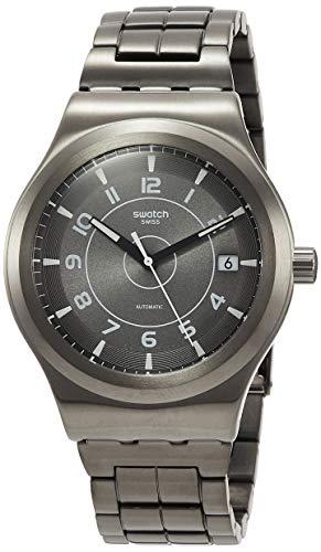 スウォッチ 腕時計 メンズ Swatch Mens Analogue Automatic Watch with Stainless Steel Strap YIM400Gスウォッチ 腕時計 メンズ