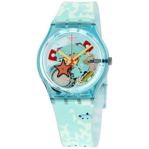 スウォッチ 腕時計 メンズ Swatch Originals Piscina Multicolored Dial Silicone Strap Unisex Watch GL121スウォッチ 腕時計 メンズ