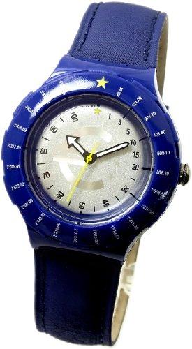 スウォッチ 腕時計 メンズ 【送料無料】1999 Special Scuba 200 Swatch Watch Euroconverter Launch of Euro SDZ103PACKスウォッチ 腕時計 メンズ