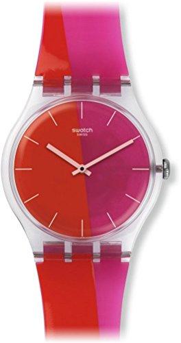 スウォッチ 腕時計 メンズ 夏の腕時計特集 【送料無料】Swatch Men's New Gent SUOK117 Multi Silicone Swiss Quartz Watchスウォッチ 腕時計 メンズ 夏の腕時計特集