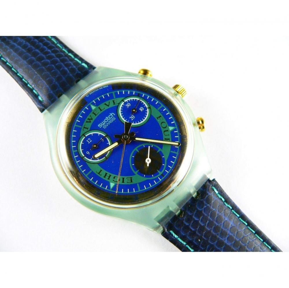 スウォッチ 腕時計 メンズ 夏の腕時計特集 【送料無料】1994 Chrono swatch watch Hitch Hiker SCG104スウォッチ 腕時計 メンズ 夏の腕時計特集