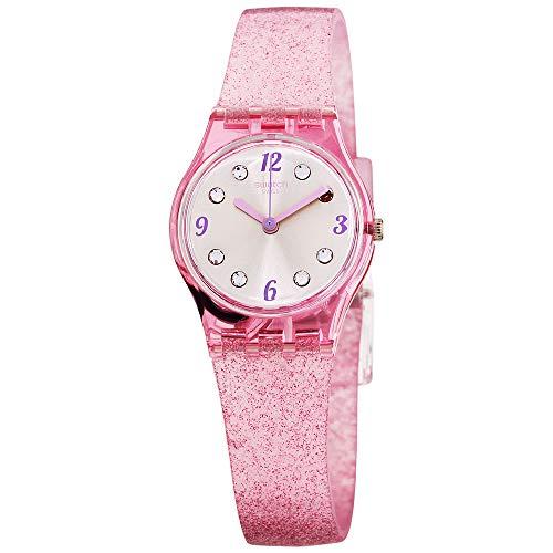 スウォッチ 腕時計 レディース 夏の腕時計特集 【送料無料】Swatch Originals Quartz Movement Silver Dial Ladies Watch LP132Cスウォッチ 腕時計 レディース 夏の腕時計特集