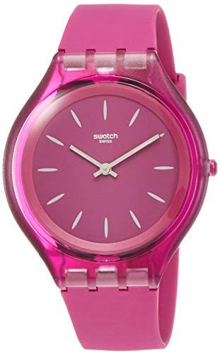スウォッチ 腕時計 レディース 【送料無料】Swatch Skinromance Purple Dial Ladies Watch SVUV100スウォッチ 腕時計 レディース
