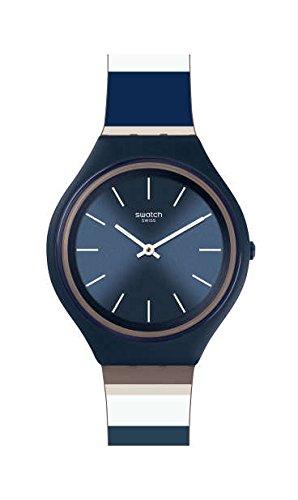 スウォッチ 腕時計 レディース 【送料無料】Swatch Women's Skinkiss SVUN103 Blue Silicone Swiss Quartz Fashion Watchスウォッチ 腕時計 レディース