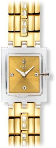 スウォッチ 腕時計 レディース 夏の腕時計特集 【送料無料】Swatch White Barrette Ladies Watch SUBK151Gスウォッチ 腕時計 レディース 夏の腕時計特集