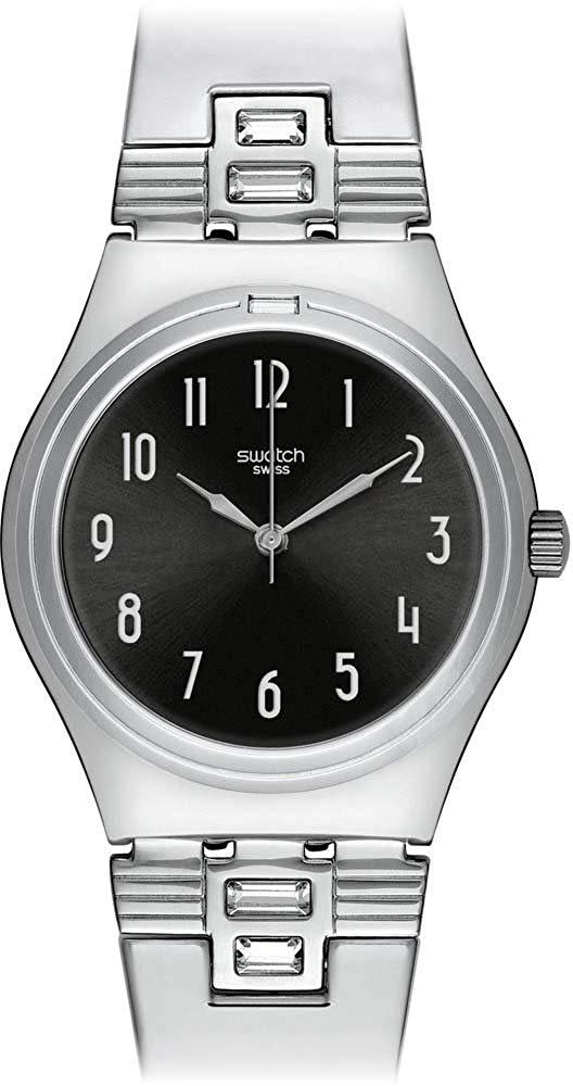 スウォッチ 腕時計 レディース 【送料無料】Swatch Last Night Ladies Watch YLS176Gスウォッチ 腕時計 レディース
