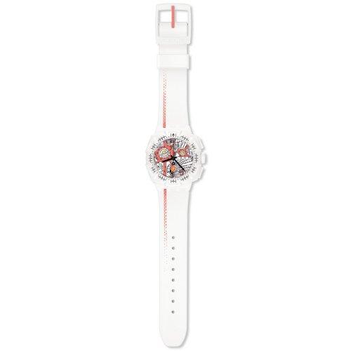 スウォッチ 腕時計 メンズ 【送料無料】Swatch - Chrono Collection -Street Map Flash - SUIW411スウォッチ 腕時計 メンズ