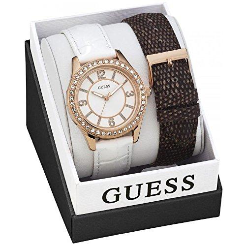 ゲス GUESS 腕時計 レディース GUESS Leather Ladies Watch W0512L1ゲス GUESS 腕時計 レディース