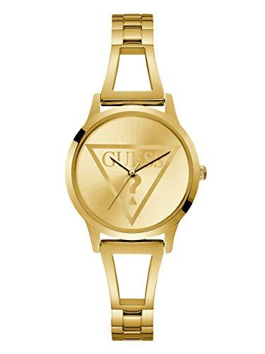 ゲス GUESS 腕時計 レディース GUESS Gold-Tone Logo Watch with Self-Adjustable Bracelet. Color: Gold-Tone (Model: U1145L3)ゲス GUESS 腕時計 レディース