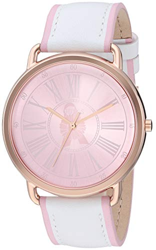 ゲス GUESS 腕時計 レディース 【送料無料】GUESS Women's Stainless Steel Quartz Watch with Leather Calfskin Strap, White, 20 (Model: U0032L8)ゲス GUESS 腕時計 レディース