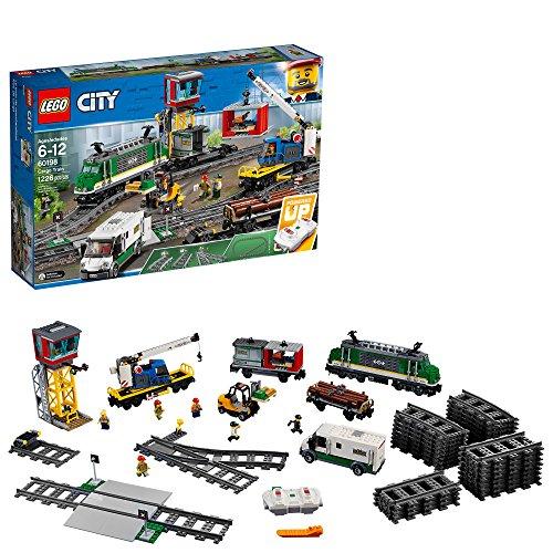 レゴ シティ LEGO City Cargo Train 60198 Remote Control Train Building Set with Tracks for Kids, Top Present or Gift for Boys and Girls (1226 Pieces) (Amazon Exclusive)レゴ シティ