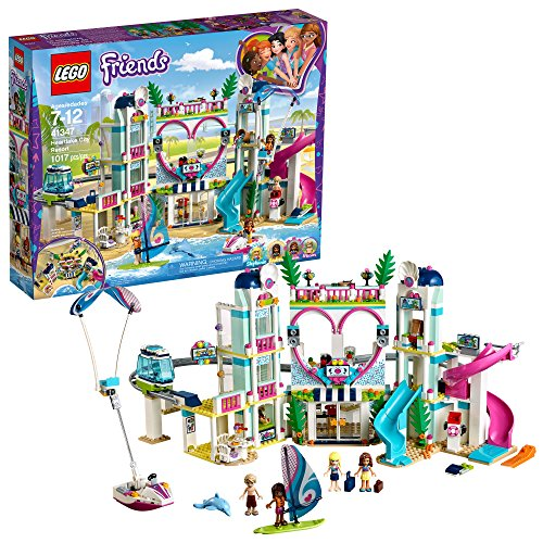 レゴ フレンズ 【送料無料】LEGO Friends Heartlake City Resort 41347 Top Hotel Building Blocks Kit for Kids Aged 7-12, Popular and Fun Toy Set for Girls (1017 Pieces)レゴ フレンズ