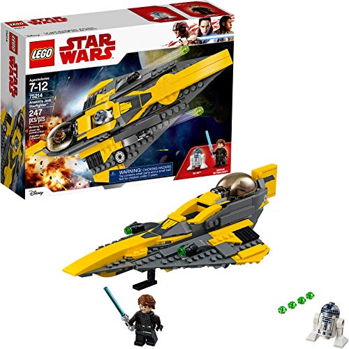 レゴ スターウォーズ 【送料無料】LEGO Star Wars: The Clone Wars Anakin's Jedi Starfighter 75214 Building Kit (247 Pieces)レゴ スターウォーズ
