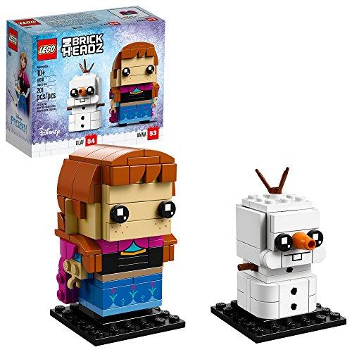 レゴ ディズニープリンセス 【送料無料】LEGO BrickHeadz Anna & Olaf Building Kit, Multicolorレゴ ディズニープリンセス