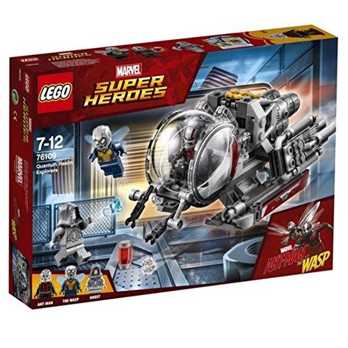 レゴ スーパーヒーローズ マーベル DCコミックス スーパーヒーローガールズ LEGO Marvel Ant-Man Quantum Realm Explorers 76109 Building Set (200 Piece)レゴ スーパーヒーローズ マーベル DCコミックス スーパーヒーローガールズ