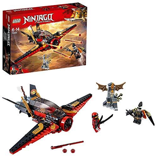 レゴ ニンジャゴー LEGO Ninjago Destiny's Wing Toy Jet Plane, Kai & Jet Jack Minifigures, Airplane Building Sets for Kidsレゴ ニンジャゴー