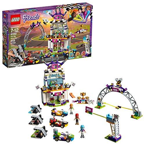 レゴ フレンズ LEGO Friends The Big Race Day 41352 Building Kit, Mini Go Karts and Toy Cars for Girls, Best Gift for Kids (648 Piece)レゴ フレンズ
