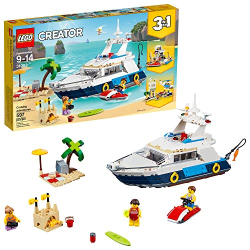 レゴ クリエイター LEGO Creator 3in1 Cruising Adventures 31083 Building Kit (597 Piece)レゴ クリエイター